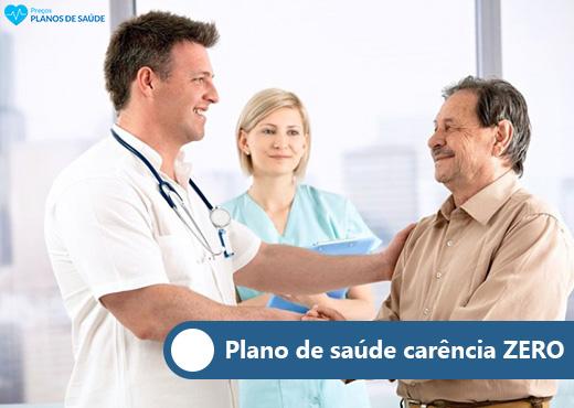 Plano de saúde carência zero